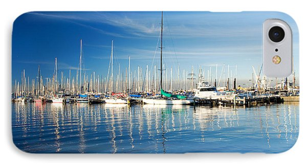 Gem Pier Of Williamstown IPhone Case by Yew Kwang