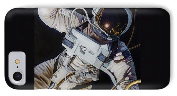 Gemini Iv- Ed White IPhone 7 Case by Simon Kregar