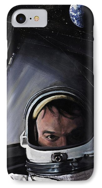 Gemini X- Michael Collins IPhone Case