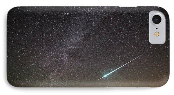 Geminid Meteor In Florida IPhone Case