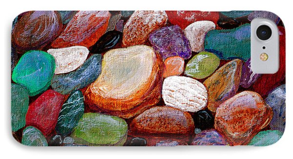 Gemstones Phone Case by Barbara Griffin