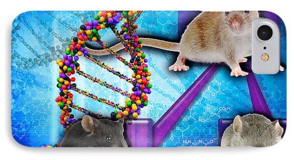 Gene Expression In Mice IPhone Case