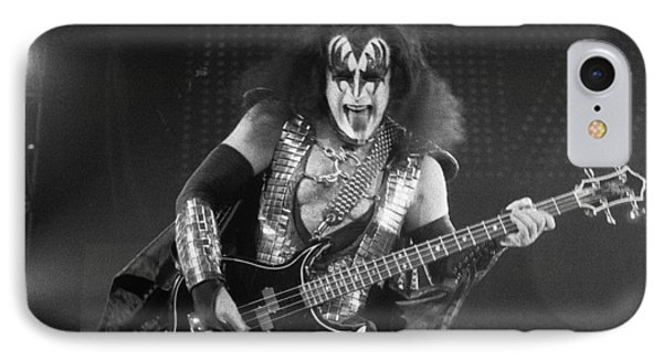 Gene Simmons Phone Case by Timothy Bischoff