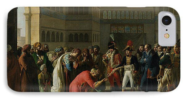 General Bonaparte Giving A Sword To The Military Chief Of Alexandria, July 1798, 1808 Oil On Canvas IPhone Case
