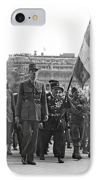 General Charles De Gaulle Phone Case by Underwood Archives