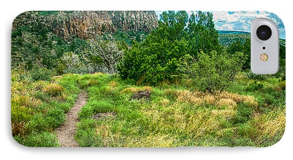 General Crook Trail In The Arizona Mountains IPhone Case by Bob and Nadine Johnston