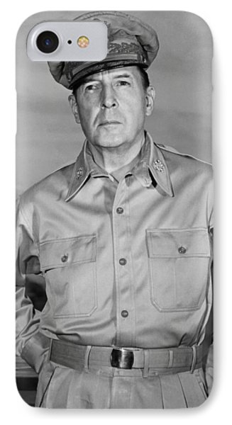 General Douglas Macarthur IPhone Case by Andrew Lopez