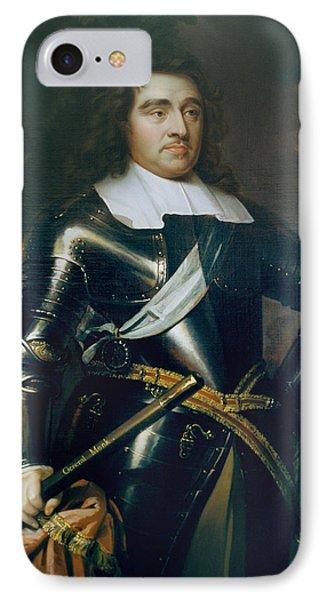 General George Monk 1st Duke Phone Case by Samuel Cooper
