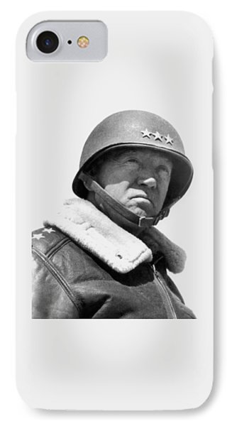 General George Patton Phone Case by War Is Hell Store