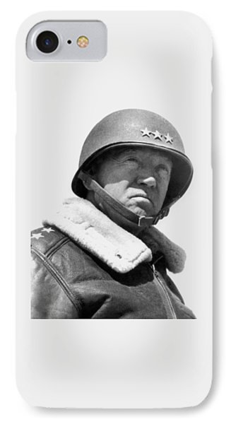 General George Patton IPhone Case by War Is Hell Store