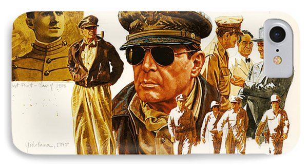 General Macarthur Phone Case by Dick Bobnick