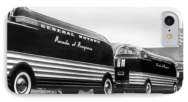 General Motors' Futurliners IPhone Case by Underwood Archives