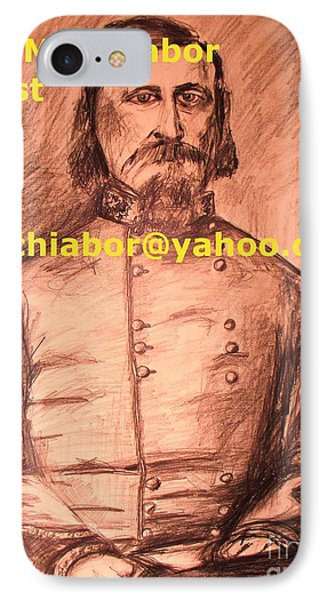 General Pickett Confederate  Phone Case by Eric  Schiabor