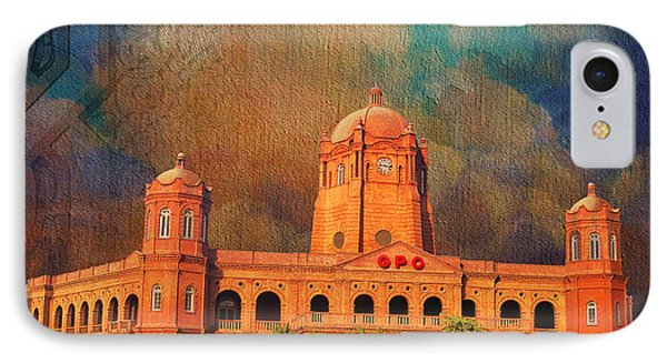 General Post Office Lahore Phone Case by Catf