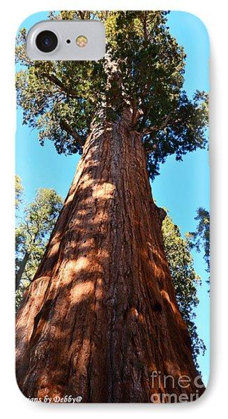 General Sherman Tree IPhone Case by Debby Pueschel