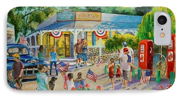 General Store After July 4th Parade Phone Case by Jan Mecklenburg