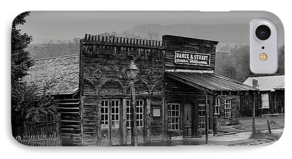 General Store Virginia City Montana Phone Case by Thomas Woolworth