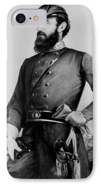 General Thomas Stonewall Jackson IPhone Case by Mountain Dreams
