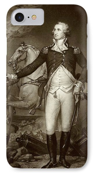 General Washington At Trenton IPhone Case by American Philosophical Society