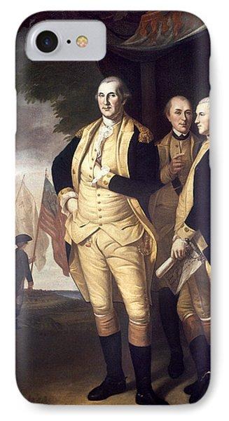 Generals At Yorktown, 1781 IPhone Case by Granger