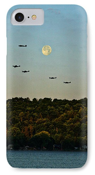 Geneseo Air Show IPhone Case by Richard Engelbrecht