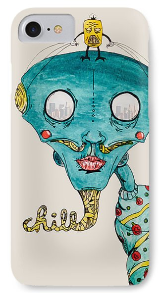 Genie Of Chill York IPhone Case