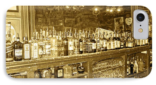Genoa Bar Oldest Saloon In Nevada's Old West History Phone Case by Artist and Photographer Laura Wrede
