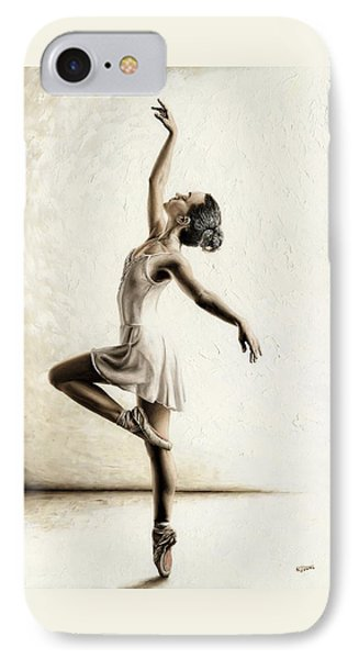 Genteel Dancer IPhone Case by Richard Young