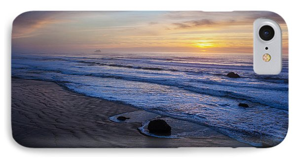 Gentle Evening Waves Phone Case by Mike Reid