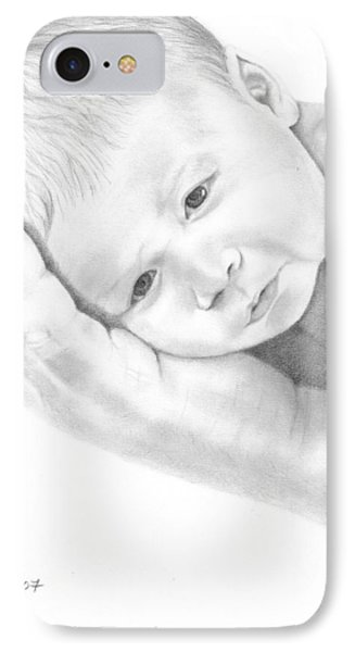 Gentle Innocence IPhone Case by Patricia Hiltz
