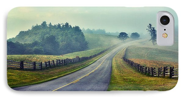 Gentle Morning - Blue Ridge Parkway II IPhone Case