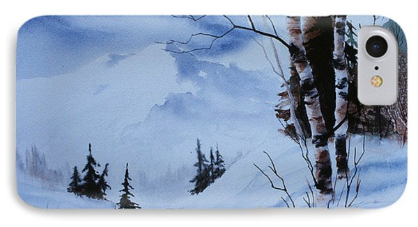 Gentle Mountains Phone Case by Teresa Ascone