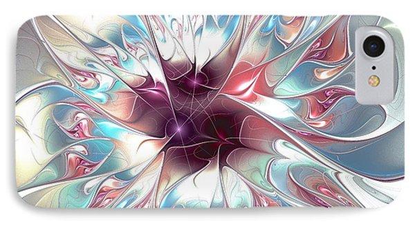 Gentle Touch IPhone Case by Anastasiya Malakhova