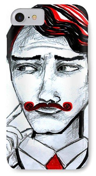 Gentleman  IPhone Case by Sladjana Lazarevic