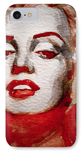 IPhone Case featuring the painting Gentlemens Prefer Blondes by Laur Iduc