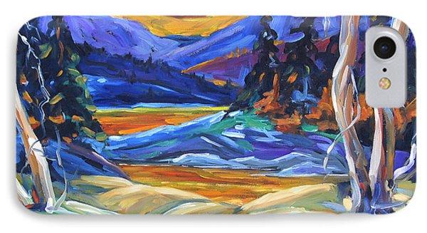Geo Landscape II By Prankearts IPhone Case