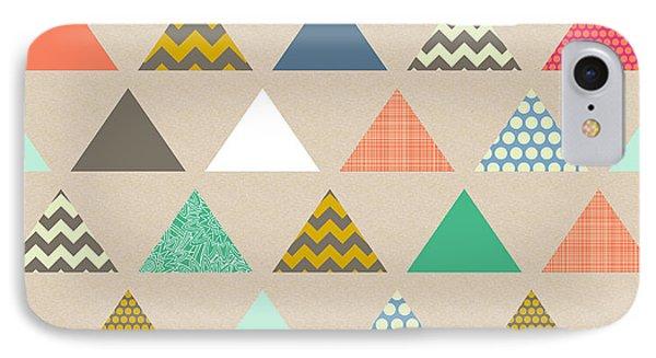 Geo Triangles IPhone Case