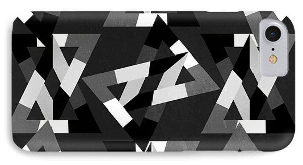 Geometric 12 Phone Case by Mark Ashkenazi
