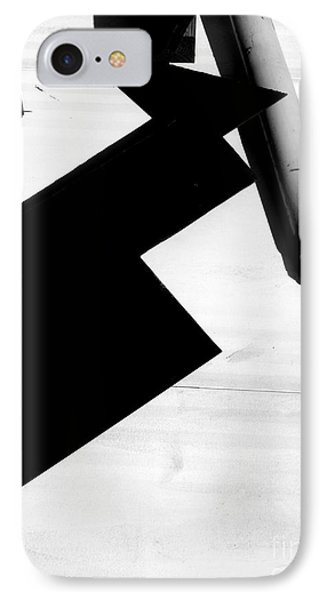 Geometric Shadow IPhone Case by Robert Riordan