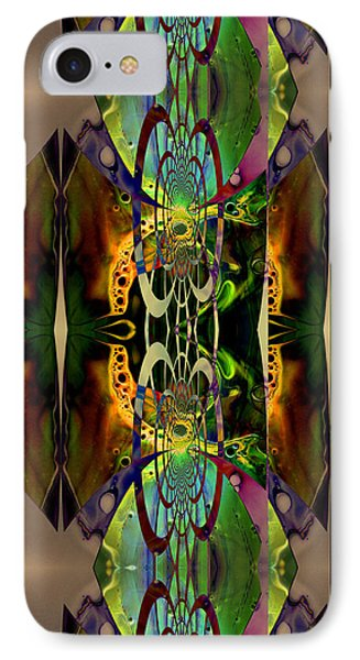 IPhone Case featuring the painting Geometrica Iphone Case by Robert Kernodle