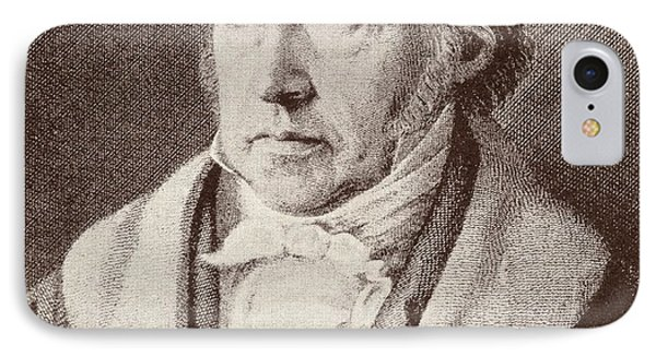 Georg Hegel  IPhone Case by Anonymous