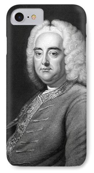 George Frederic Handel IPhone Case by Underwood Archives