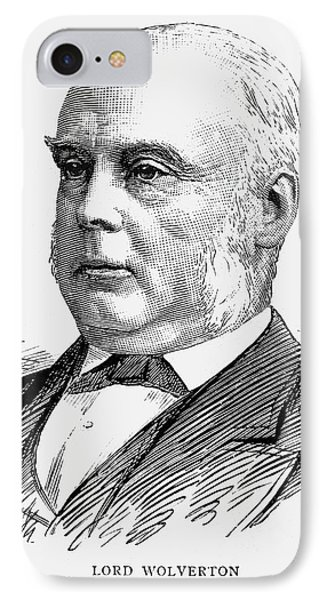 George Glyn (1824-1887) IPhone Case by Granger