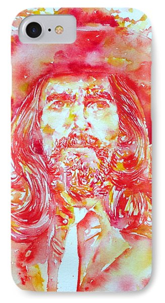 George Harrison With Hat Phone Case by Fabrizio Cassetta
