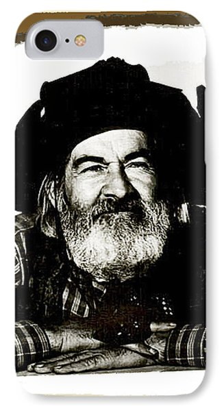 George Hayes Portrait #1 Card IPhone 7 Case