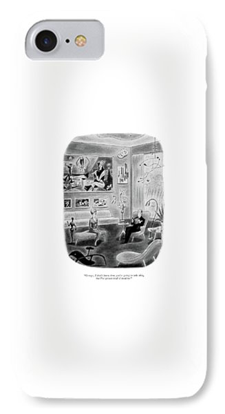 George, I Don't Know How You're Going To Take IPhone Case by Richard Taylor