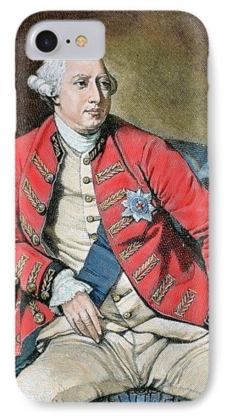 George IIi (london, 1738-windsor, 1820 IPhone Case
