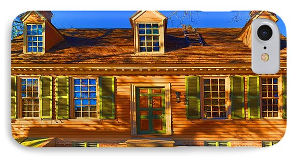George Pitt House IPhone Case by Gregory Scott