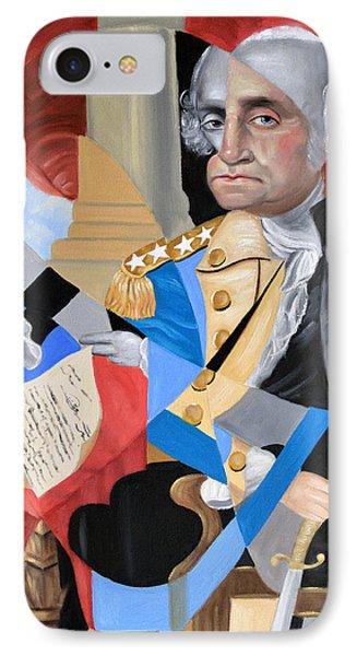 George Washington IPhone Case by Anthony Falbo