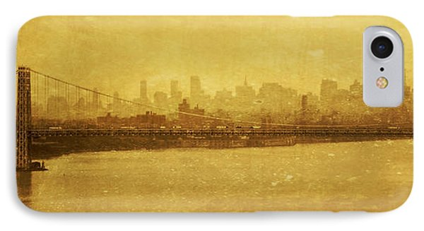 IPhone Case featuring the photograph George Washington Bridge by Debra Fedchin